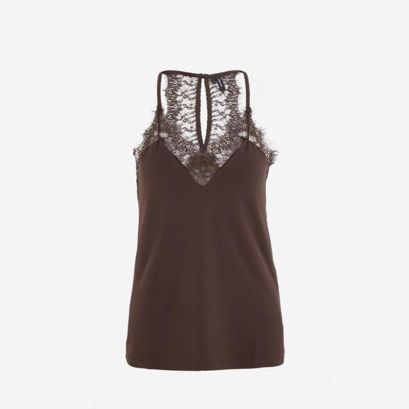 Vero Moda | Milla Top | Coffee-31
