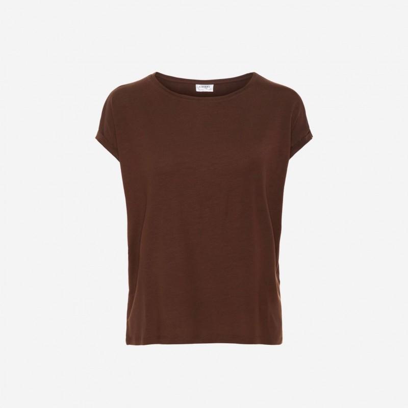 Vero Moda / Aware   Ava T-shirt   Rust Rød-32