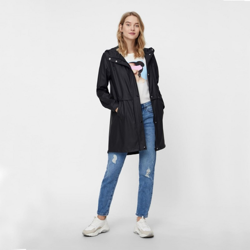 Vero Moda | Regnjakke | Sort-31