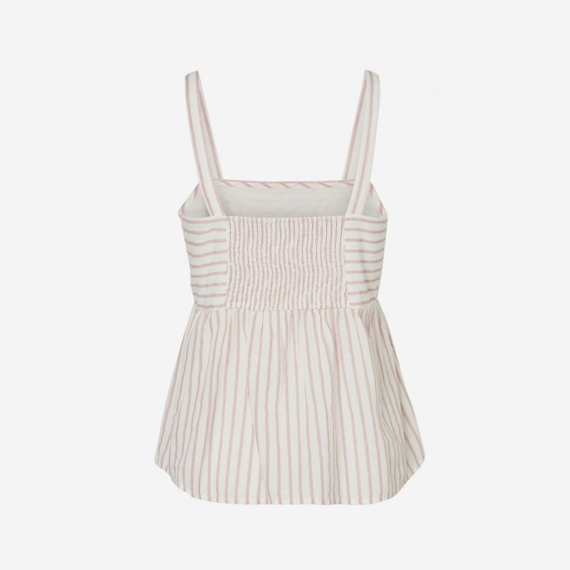 Vero Moda | Coco Top | Stribet | Rosa-31