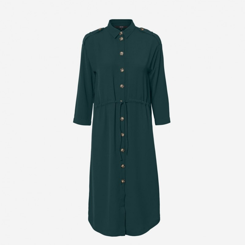 Vero Moda | Catrin Dress | Grøn-31