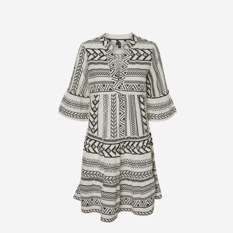 Vero Moda | Dicthe Tunika Kjole | Black-31