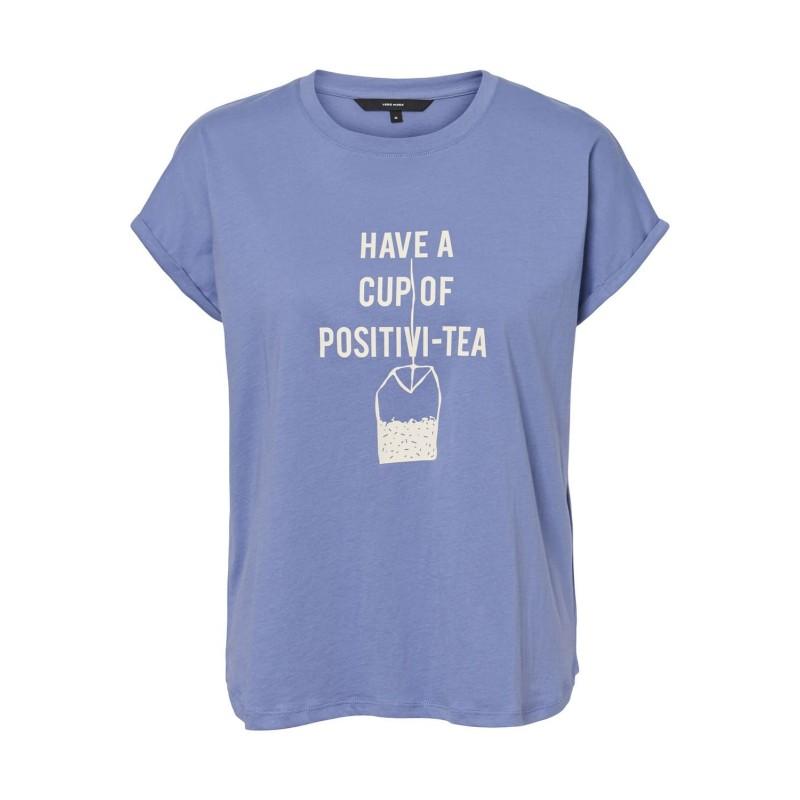 Vero Moda | Gillianava T-shirt | Blå-31