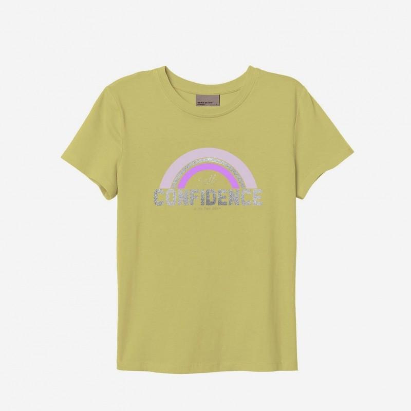 Vero Moda | Confidence T-shirt | Lime-31