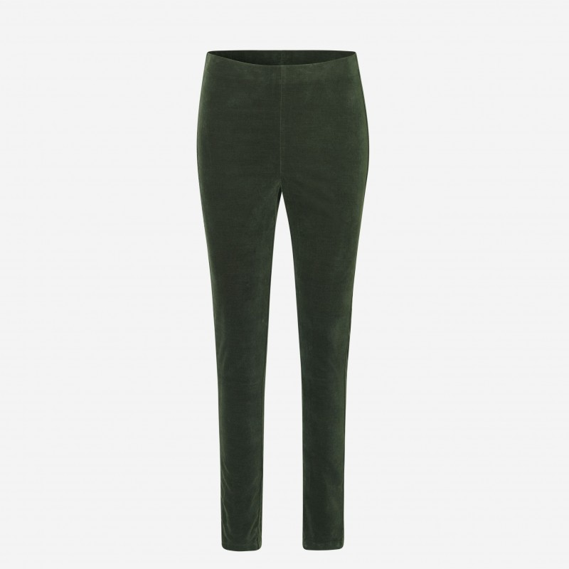 Rosemunde | Velour Leggings | Grøn-31