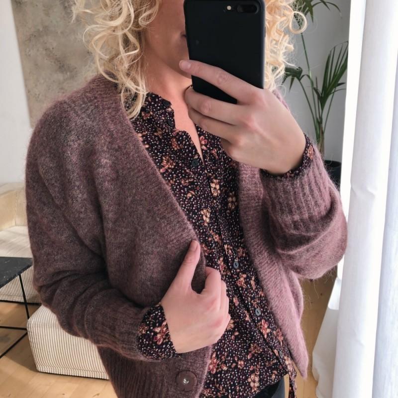 Second Female | Brook Cardigan | Rosa-31