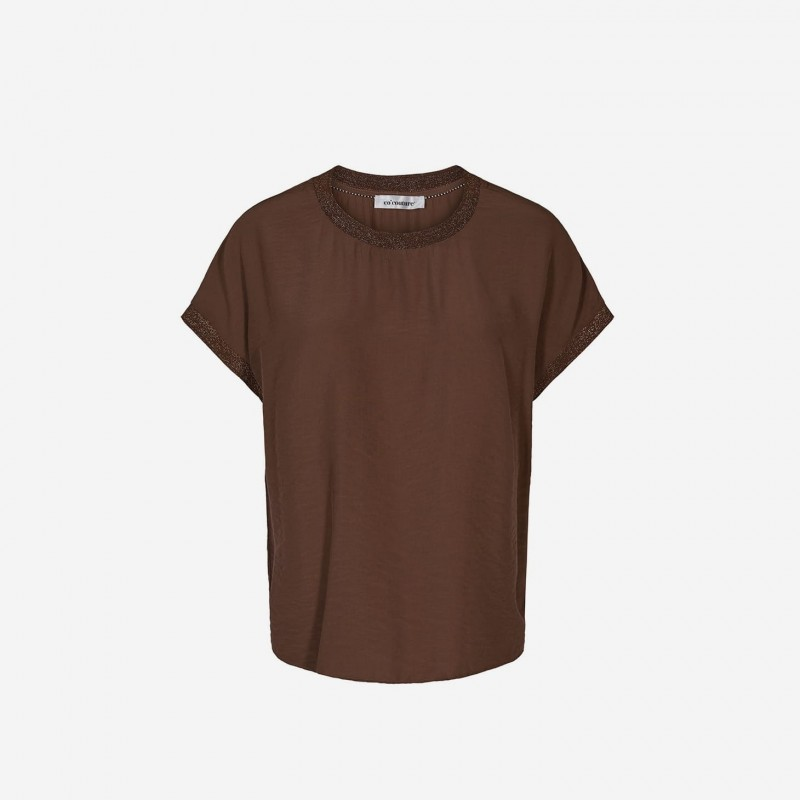 Cocouture | New Norma Top | Walnut-31