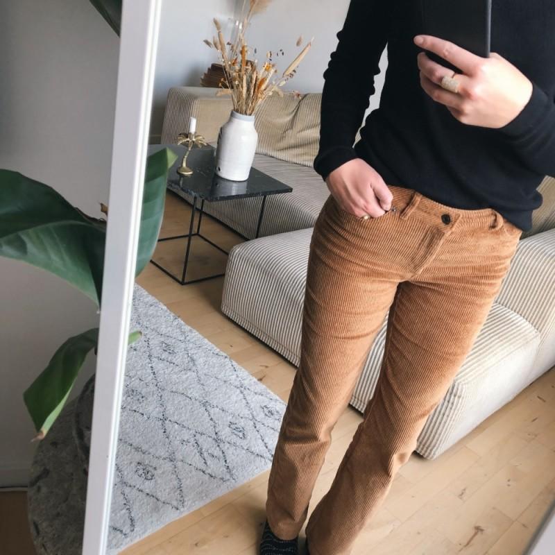 Vero Moda | Sheila Kick Flare Buks | Tobacco-31