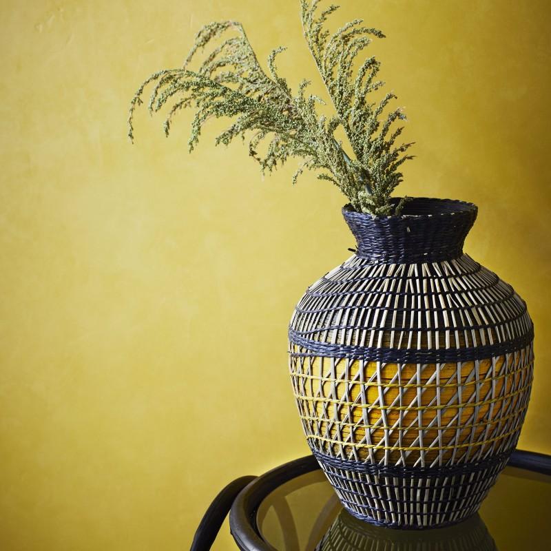 Madam Stoltz   Seagrass Vase-31