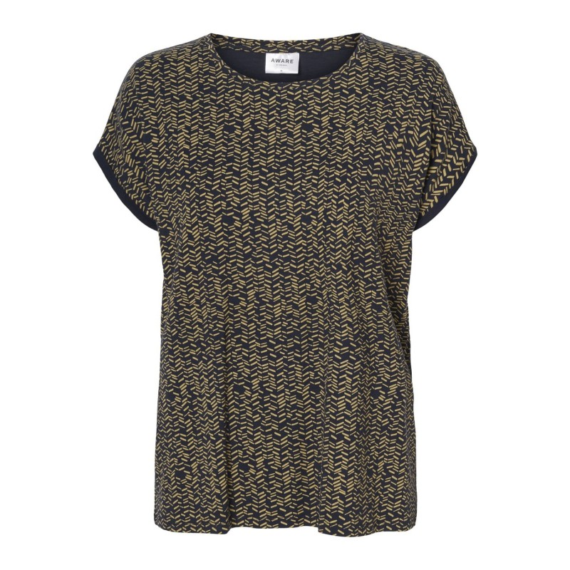 Vero Moda / Aware | Ava T-shirt | Navy-31