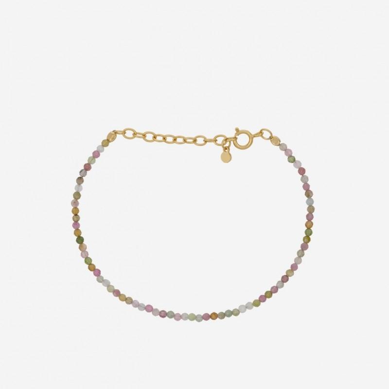 Pernille Corydon | Light Rainbow Bracelet | Forgyldt-31