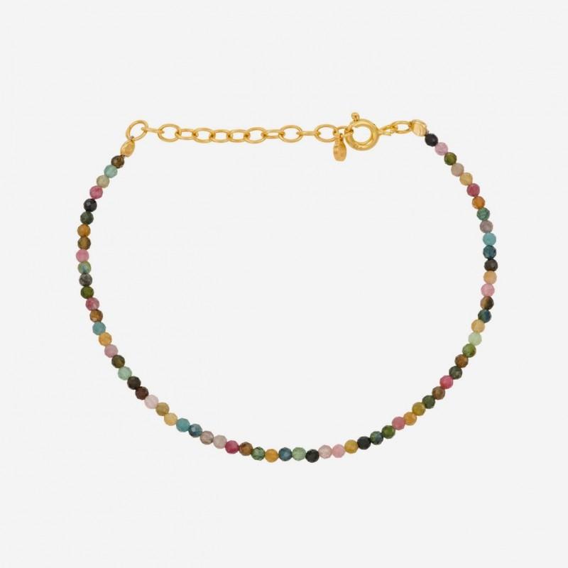 Pernille Corydon   Turmalin Bracelet   Forgyldt-31