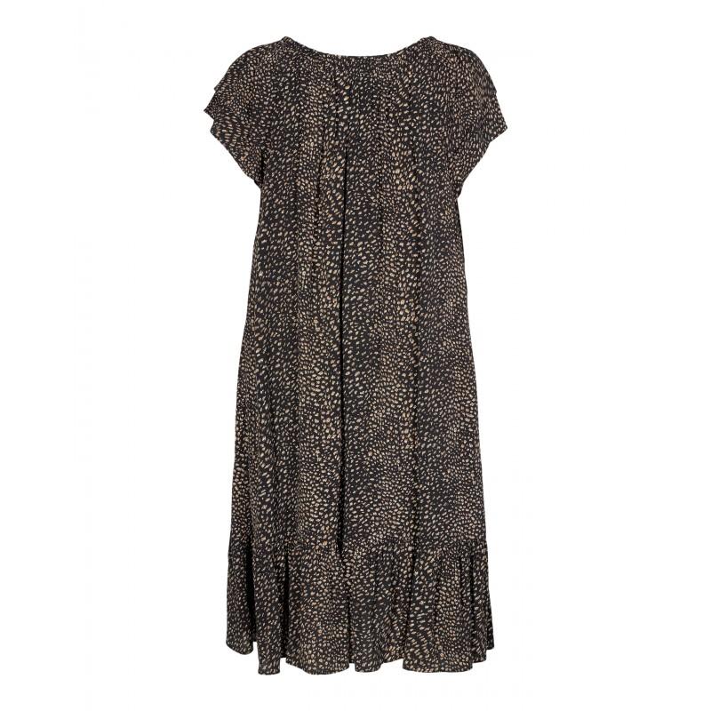 Cocouture | Sunrise kjole |Sort Multi-33