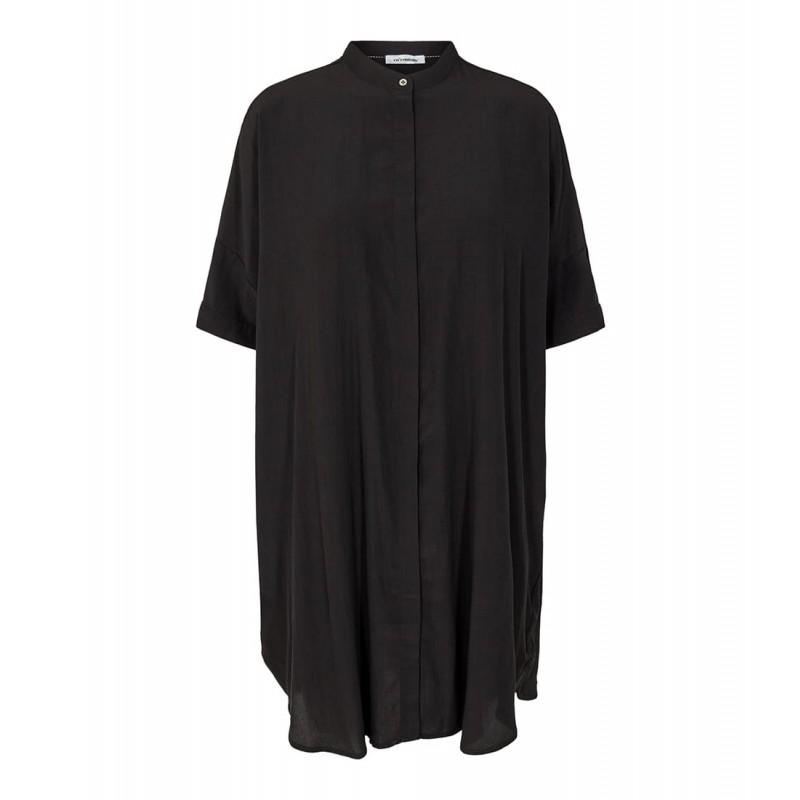 Cocouture | Sunrise Skjorte Kjole | Sort-31