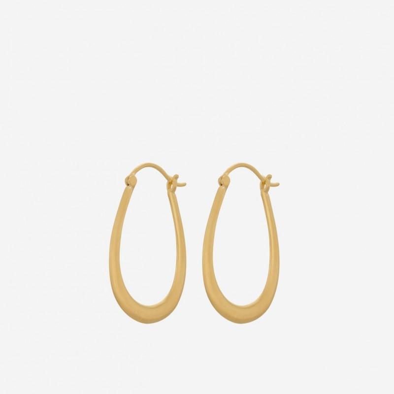 Pernille Corydon   Gala Earrings   Forgyldt-31