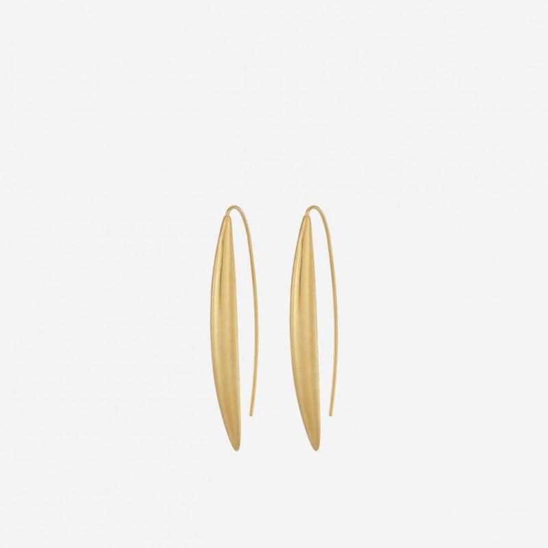 Pernille Corydon | Baker øreringe | Forgyldt-31