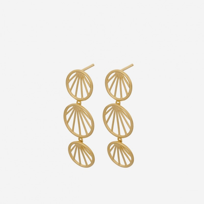 Pernille Corydon | Sunray Earrings | Forgyldt-31