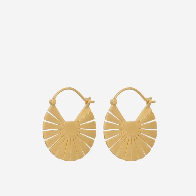 Pernille Corydon | Flare Earrings | Forgyldt-31