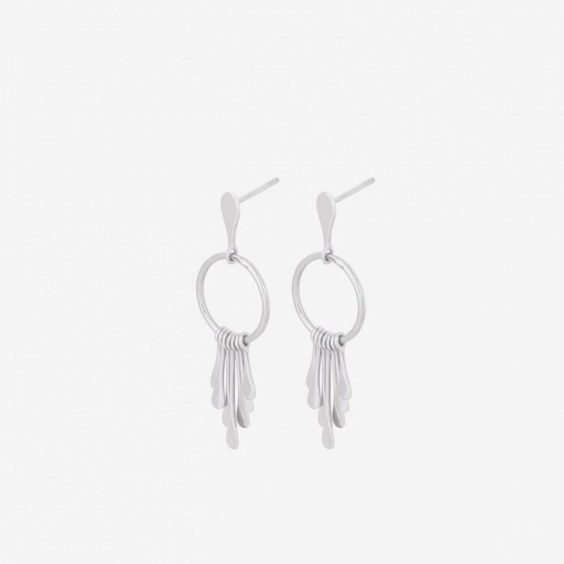 Pernille Corydon | Waterfall Ørestikker | Sølv-31