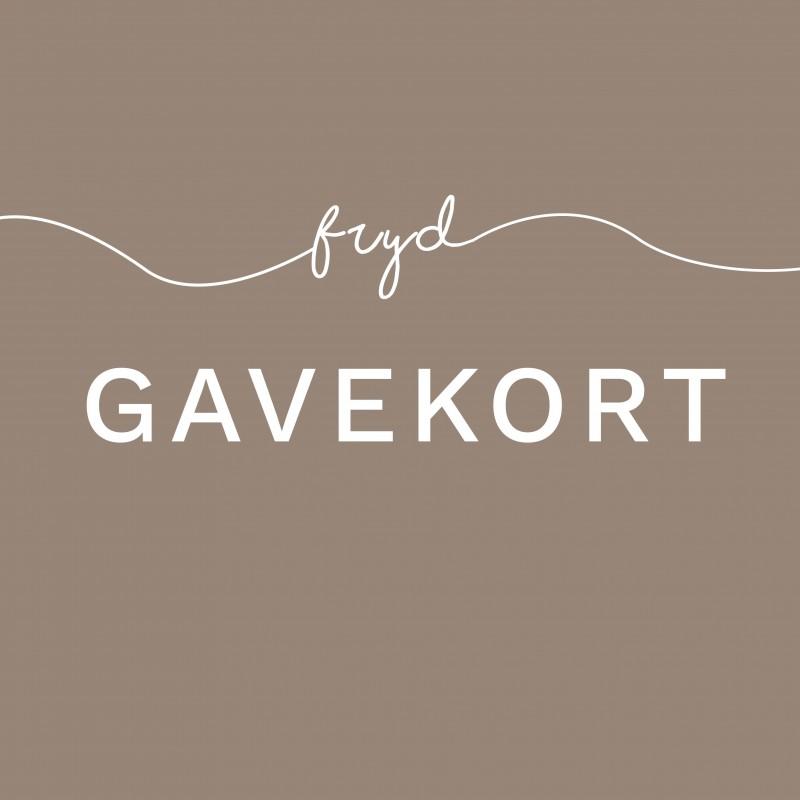 Fysisk Gavekort (sendes med brev)-31