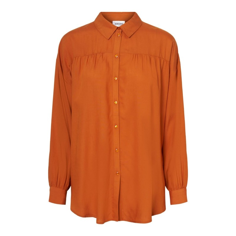 Vero Moda / Aware | Kari Skjorte | Orange-31