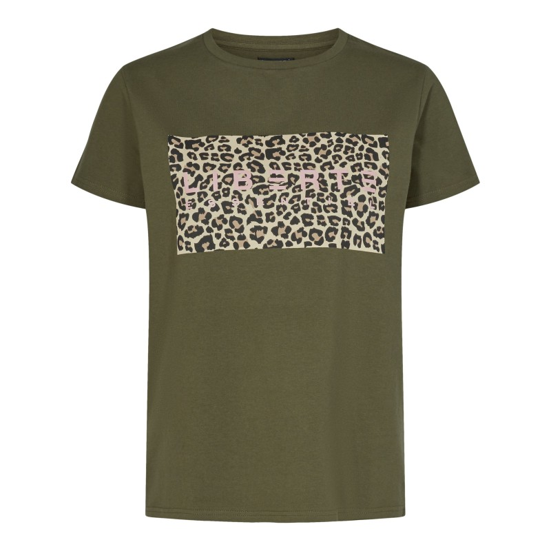 Liberté Essential | Ginger T-shirt | Army-31