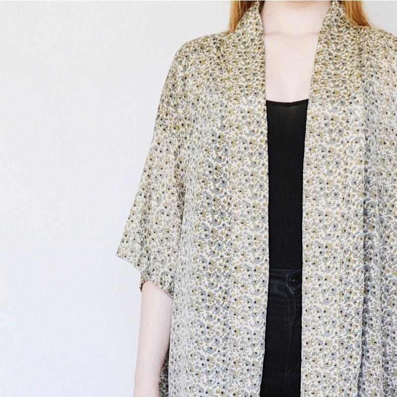 Sissel Edelbo | Lotus Short Kimono no.2-31