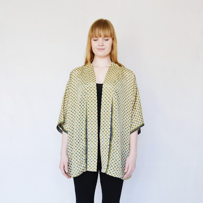 Sissel Edelbo | Lotus Short Kimono no.3-31