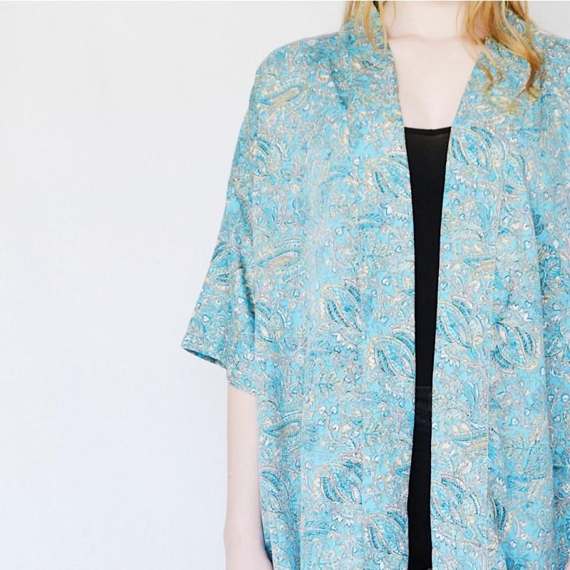 Sissel Edelbo | Lotus Short Kimono no.5-31