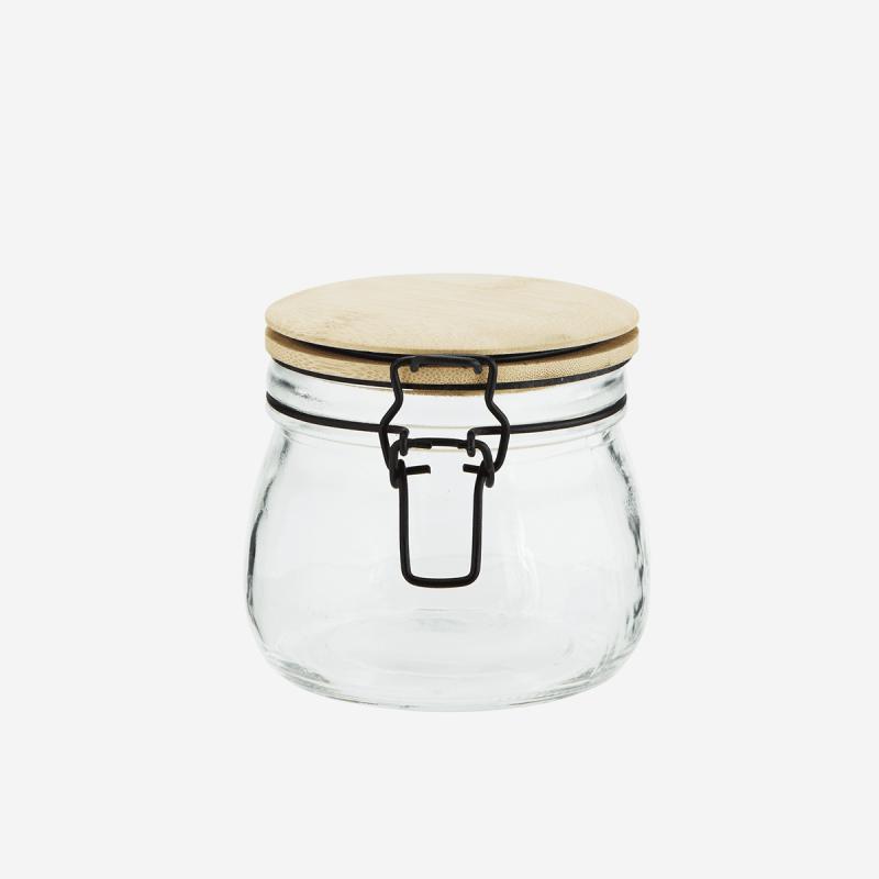 Madam Stoltz I Opbevaringsglas I Bambus-31