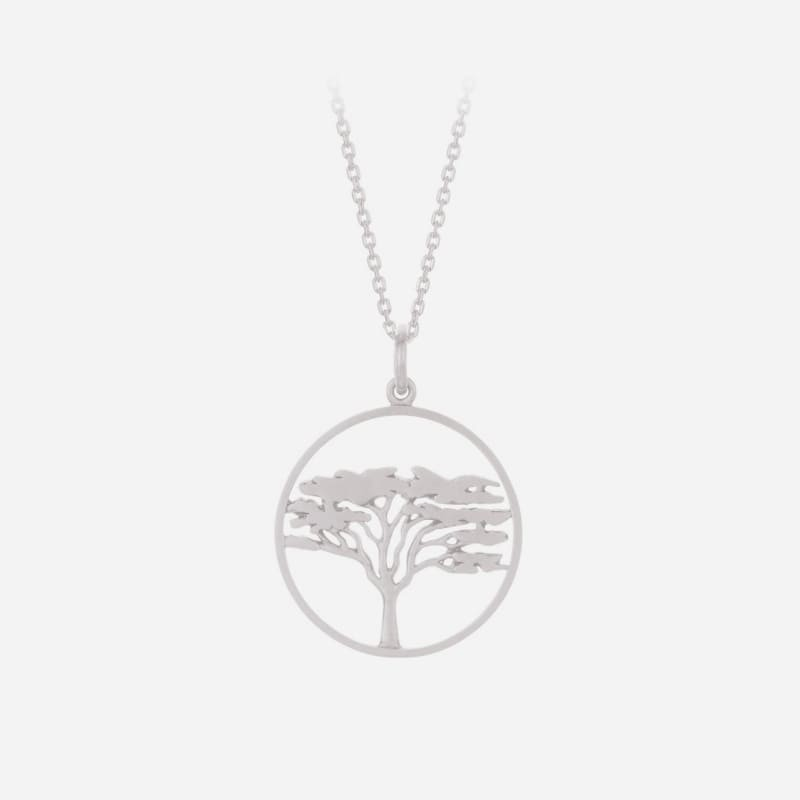 Pernille Corydon | Acacia Halskæde | Sølv-31