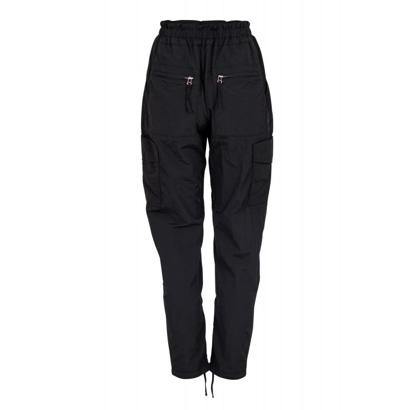 Neo Noir I Jane Crisp Pants I Sort-32