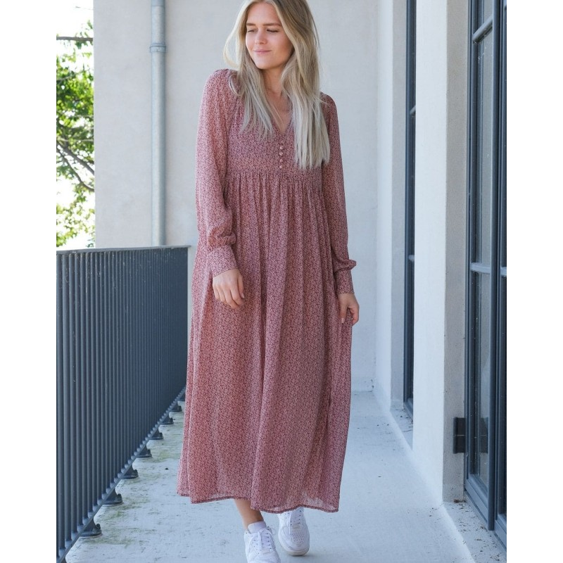 Neo Noir I Lorina Mini Garden kjole-32