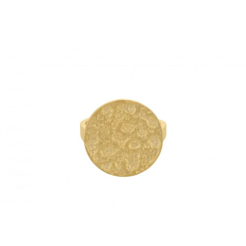 Pernille Corydon | New Moon Ring | Forgyldt-31