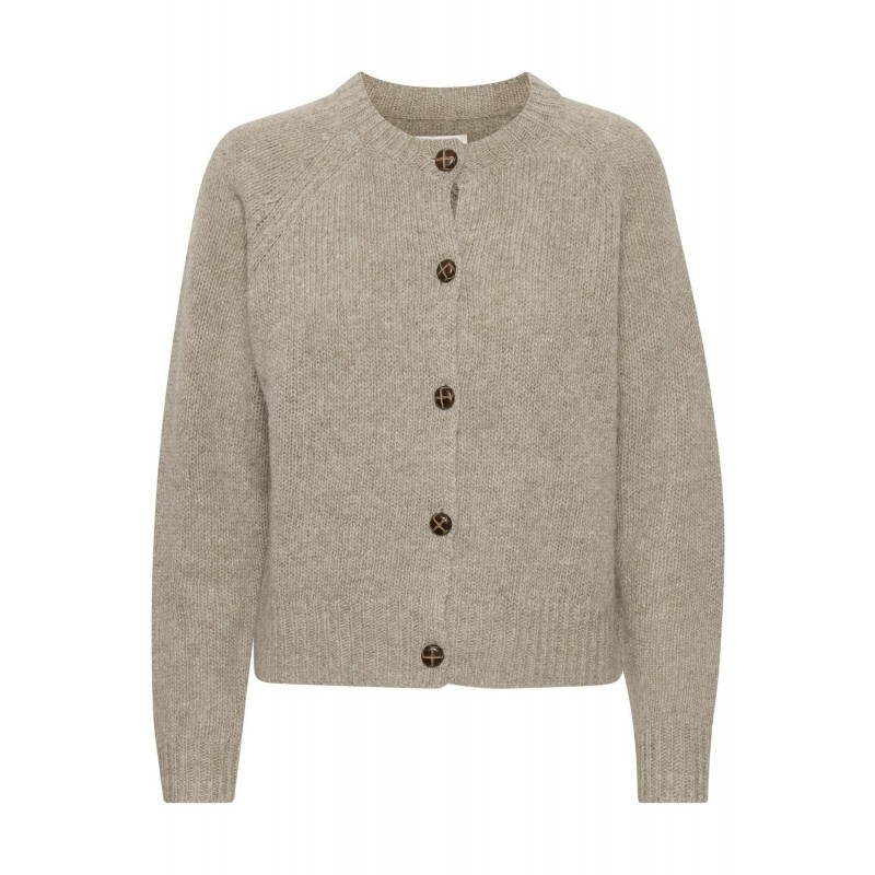 Part Two I Else Strik Cardigan I Pigeon Melange-31