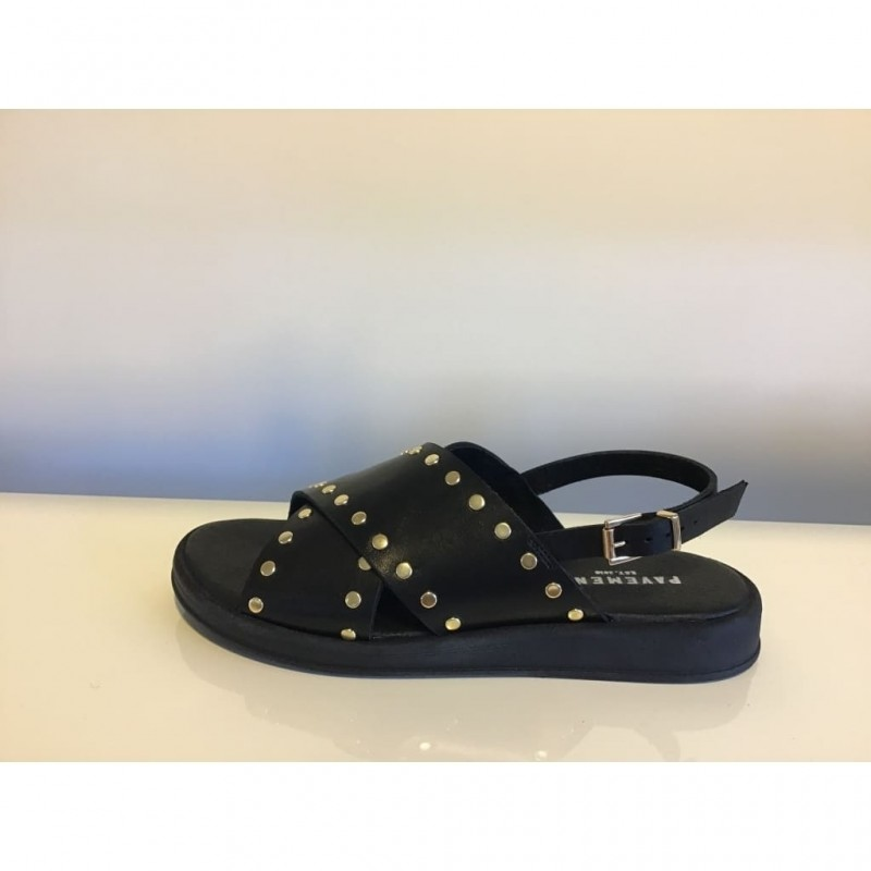 Pavement I Hannah Sandal I Sort-31