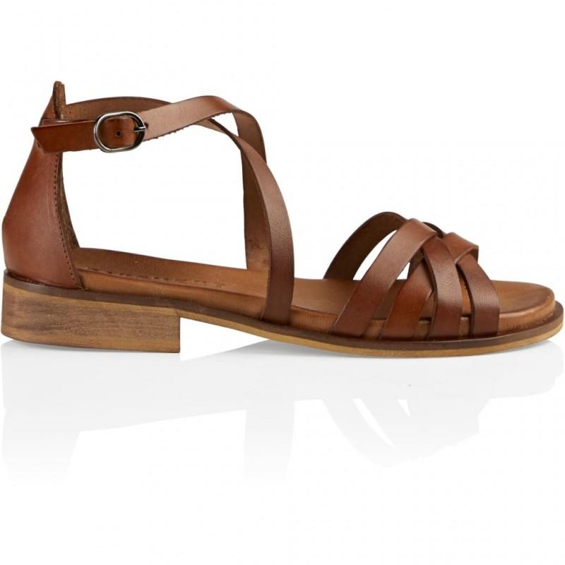 Pavement I Cala Sandal I Brun-31