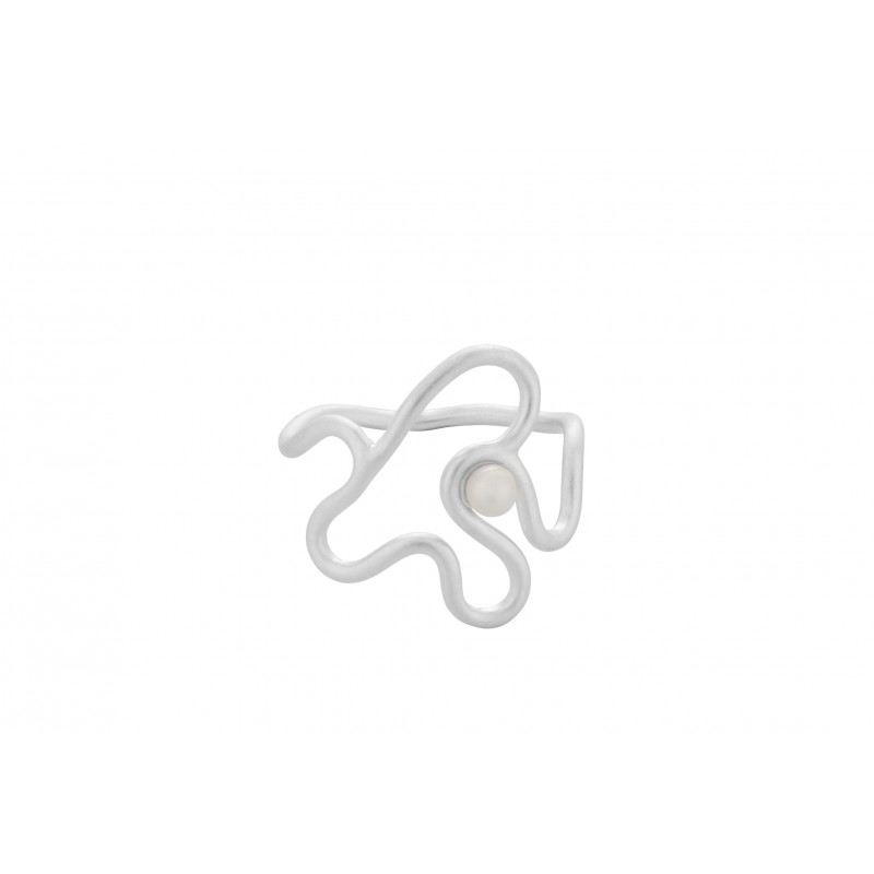 Pernille Corydon I Bay Pearl Ring I Sølv-31