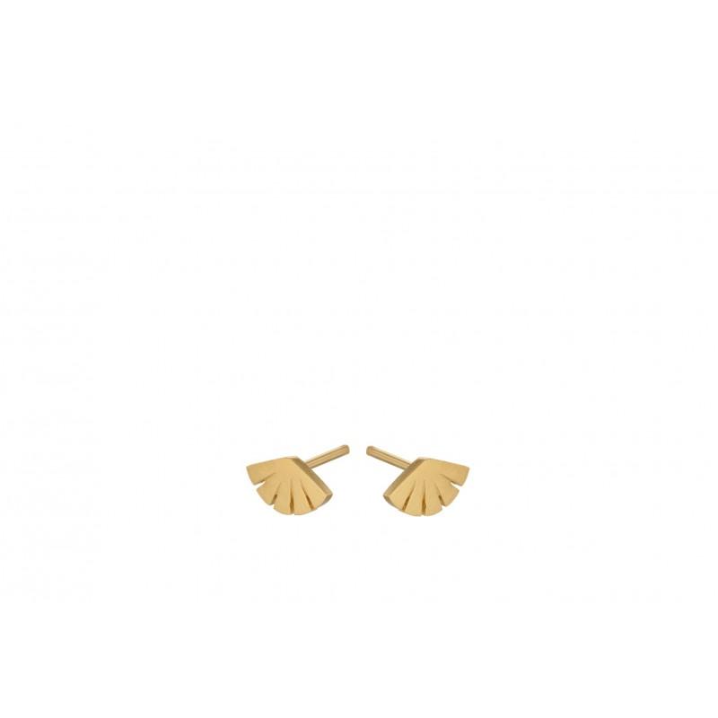 Pernille Corydon | Flare Ørestikker | Forgyldt-31