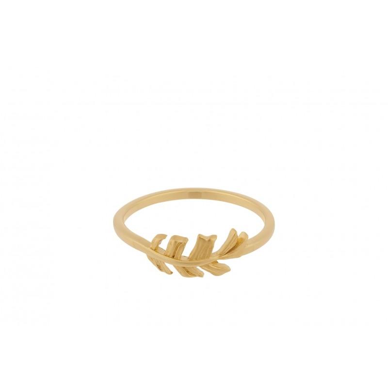 Pernille Corydon   Leaf Ring   Guld-31
