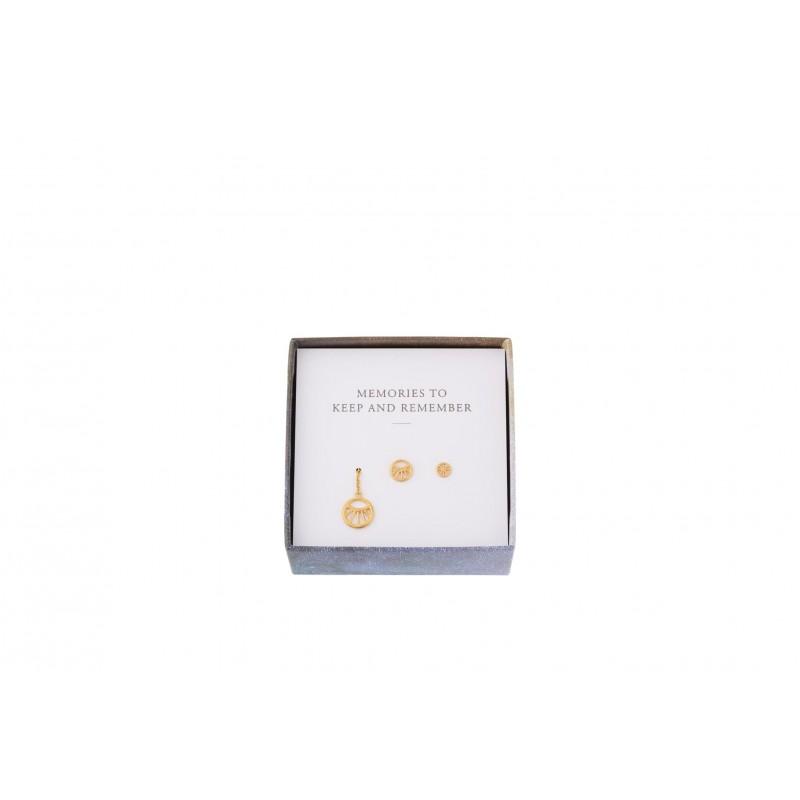Pernille Corydon I Dream earring Box I Forgyldt-31
