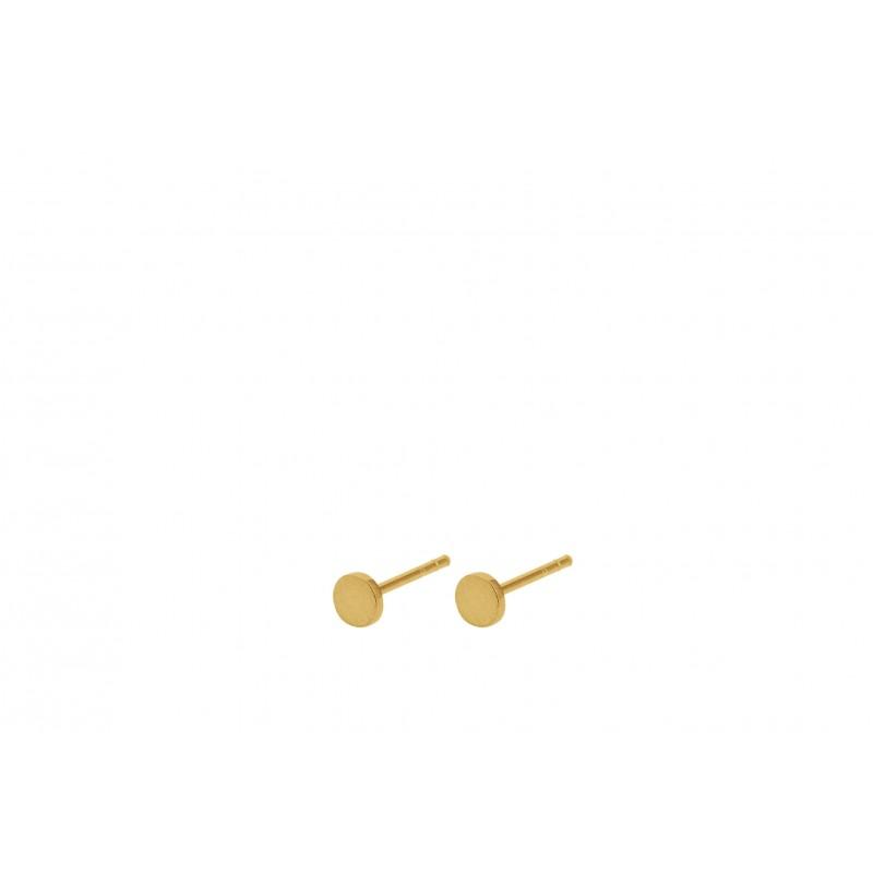 Pernille Corydon I Mini Coin Earstick I Guld-31
