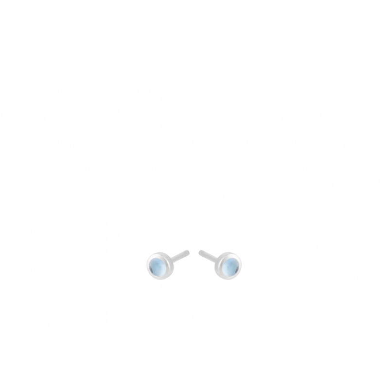 Pernille Corydon I Shine Blue Earsticks I Sølv-31