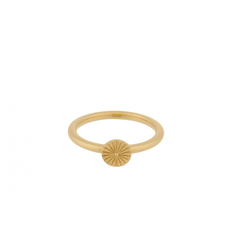 Pernille Corydon | Small Sun Ring | Guld-33