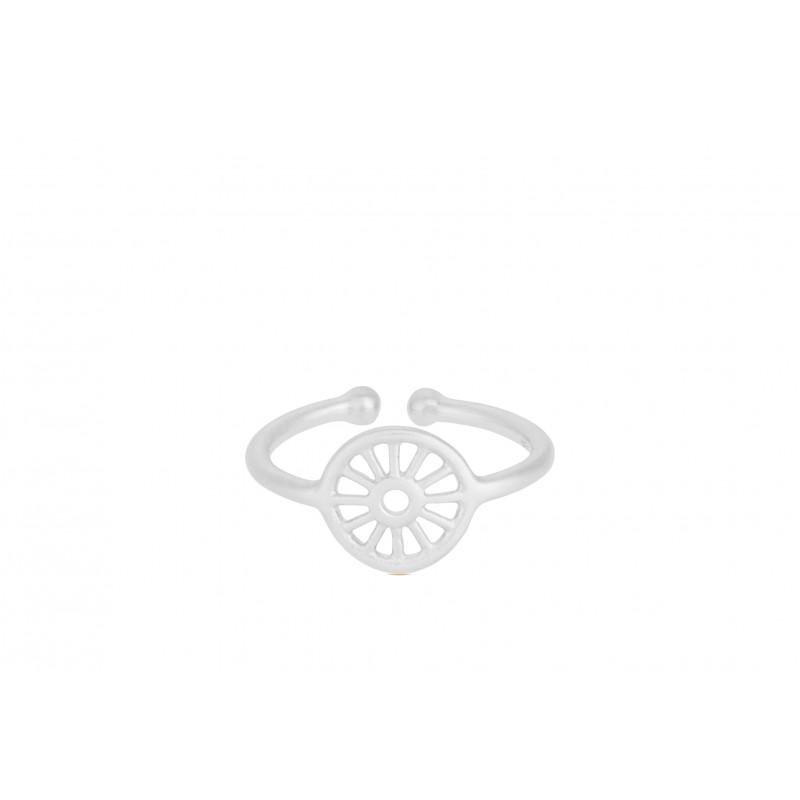 Pernille Corydon | Small Sunlight Ring | Sølv-31