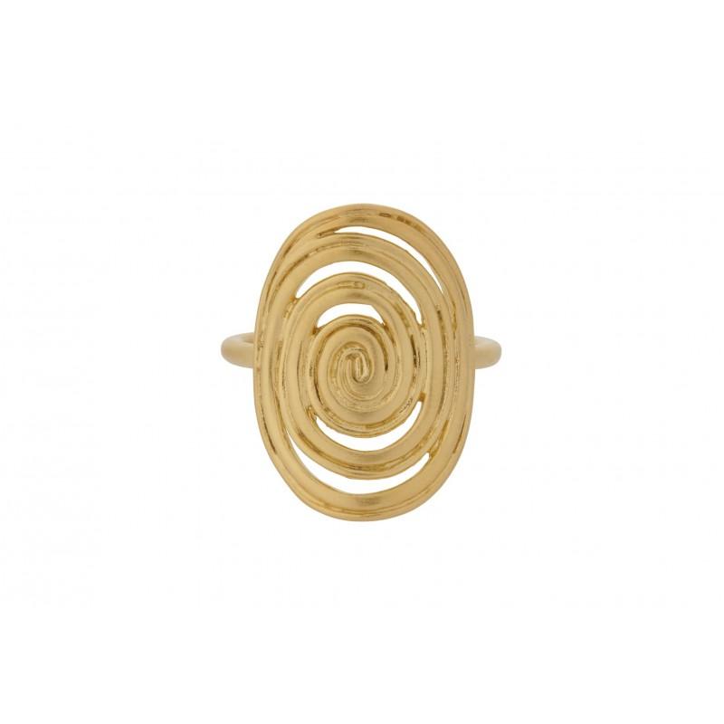 Pernille Corydon I Venus Ring I Forgyldt-31