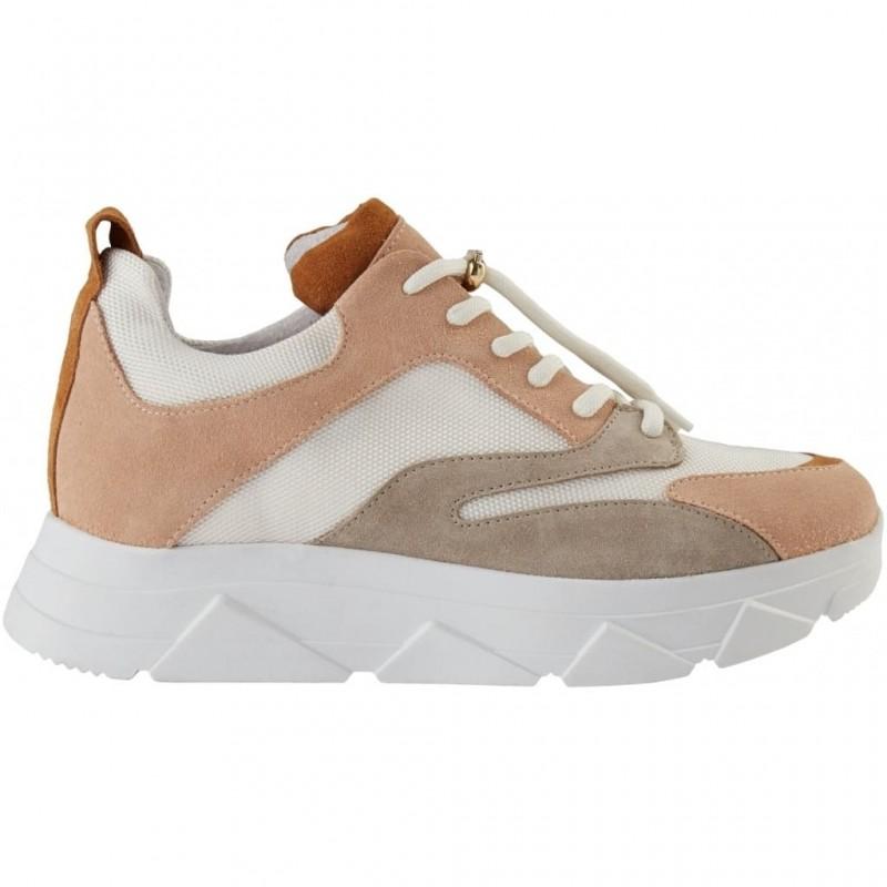 Pavement | Portia Sneakers | Nude Combo-31