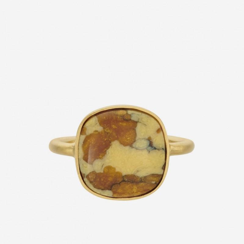 Pernille Corydon | Leopard Ring | Forgyldt-31
