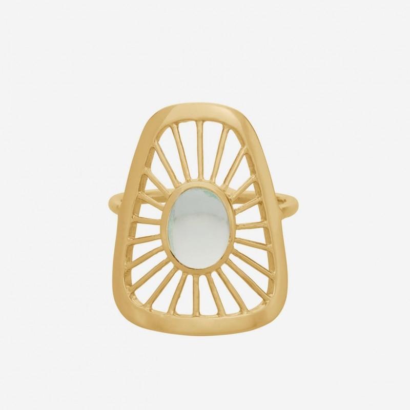 Pernille Corydon   Thilde Ring Large   Forgyldt-31