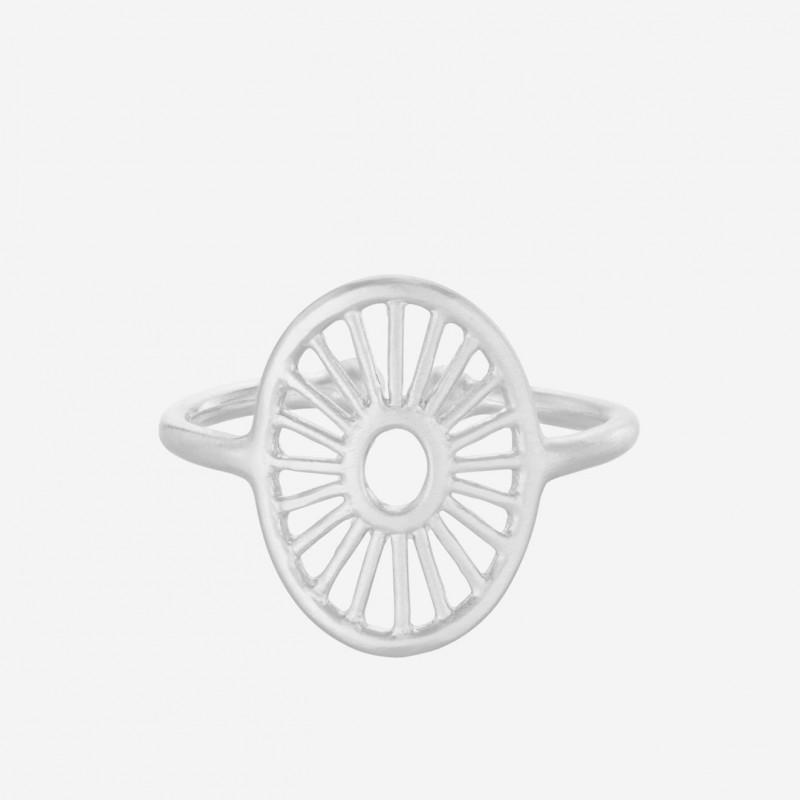 Pernille Corydon | Small Daylight Ring | Sølv-31